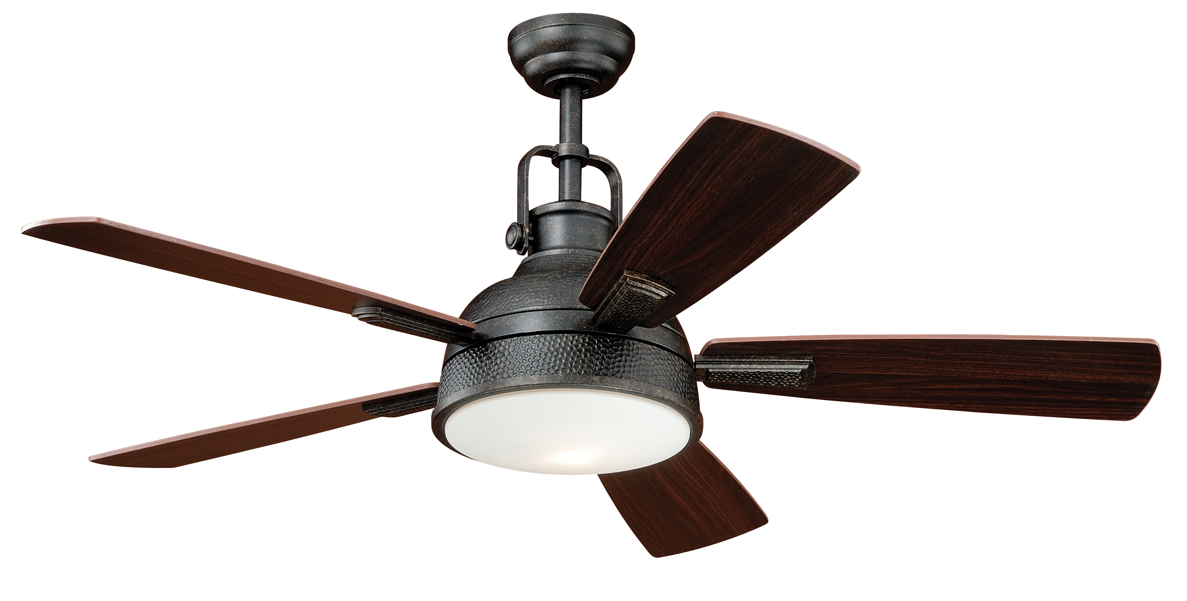 Vaxcel lighting f0027 ceiling fan from the essentia collection Industrial style ceiling fans