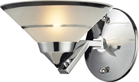 Picture for category Elk 1470/1 Refraction Wall Sconces 7in Polished Chrome 1-light