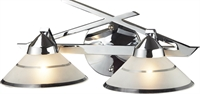 Picture for category Elk 1471/2 Refraction Vanity Lighting 16in Polished Chrome 2-light