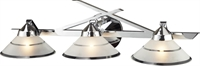 Picture for category Elk 1472/3 Refraction Vanity Lighting 25in Polished Chrome 3-light