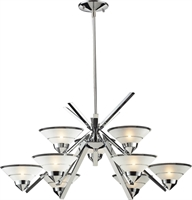 Picture for category Elk Lighting 1476/6+3 Chandeliers Refraction