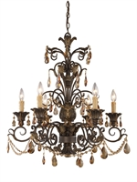 Picture for category Elk Lighting 3344/6 Chandeliers Rochelle