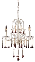 Picture for category Elk Lighting 4001/3AMB Chandeliers Opulence