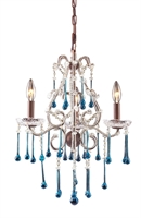 Picture for category Elk Lighting 4011/3AQ Chandeliers Opulence
