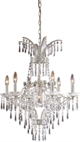 Picture for category Elk Lighting 4056/6+1 Chandeliers La fontaine