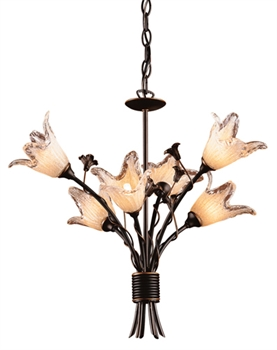 Picture of Elk Lighting 7959/8+4 Chandeliers from the Fioritura   Collection