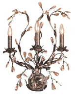 Picture for category Elk 8050/3 Circeo Wall Sconces 17in Deep Rust 3-light