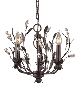 Picture of Elk Lighting 8058/3 Chandeliers from the Circeo   Collection