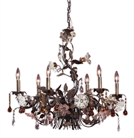 Picture for category Elk Lighting 85002 Chandeliers Cristallo fiore