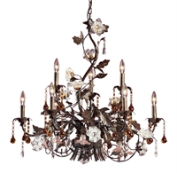 Picture for category Elk Lighting 85003 Chandeliers Cristallo fiore