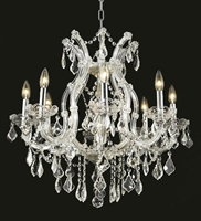 Picture for category Elegant Lighting 2800D26C/RC Chandeliers Maria theresa
