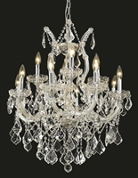 Picture for category Elegant Lighting 2800D27C/RC Chandeliers Maria theresa