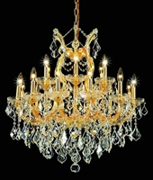 Picture for category Elegant Lighting 2800D30G/RC Chandeliers Maria theresa