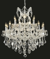 Picture for category Elegant Lighting 2800D30C/RC Chandeliers Maria theresa