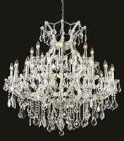 Picture for category Elegant Lighting 2800D36C/RC Chandeliers Maria theresa