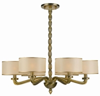 Picture for category Crystorama Lighting 9506-AB Chandeliers Luxo