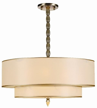 Picture of Crystorama Lighting 9507-AB chandelier from luxo collection