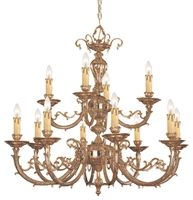 Picture for category Crystorama Lighting 489-OB Chandeliers Etta