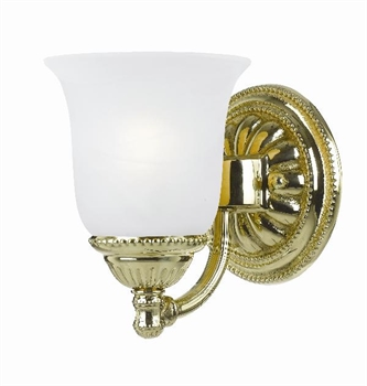 Picture of Crystorama Lighting 681-PB bath sconce from oxford collection
