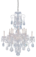 Picture for category Crystorama Lighting 1045-CH-CL-MWP Chandeliers Traditional crystal