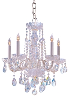 Picture for category Crystorama Lighting 1061-CH-CL-SAQ Chandeliers from the Traditional crystal   Collection