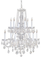 Picture for category Crystorama Lighting 1137-CH-CL-MWP Chandeliers