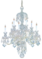 Picture for category Crystorama Lighting 1140-CH-CL-SAQ Chandeliers from the Traditional crystal   Collection