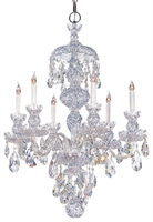 Picture for category Crystorama Lighting 1146-CH-CL-MWP Chandeliers from the Traditional crystal   Collection