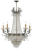 Picture for category Crystorama Lighting 1486-HB-CL-MWP Chandeliers Majestic