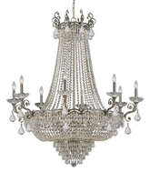 Picture for category Crystorama Lighting 1488-HB-CL-S Chandeliers Majestic