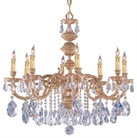 Picture for category Crystorama Lighting 2508-OB-CL-MWP Chandeliers Oxford