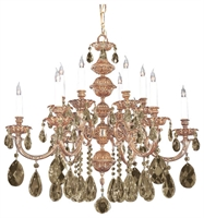 Picture for category Crystorama Lighting 2512-OB-GT-MWP Chandeliers Oxford