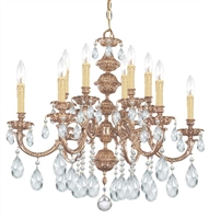 Picture for category Crystorama Lighting 2512-OB-CL-SAQ Chandeliers Oxford
