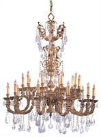 Picture for category Crystorama Lighting 2715-OB-CL-SAQ Chandeliers Kensington