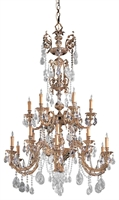 Picture for category Crystorama Lighting 2718-OB-CL-SAQ Chandeliers Palmer