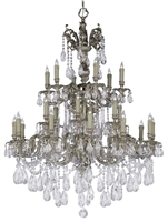Picture for category Crystorama Lighting 2724-OB-CL-S Chandeliers Oxford