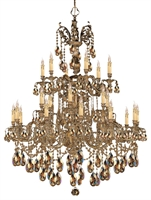 Picture for category Crystorama Lighting 2724-OB-GTS Chandeliers Oxford