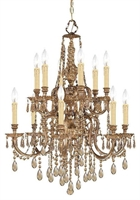 Picture for category Crystorama Lighting 2812-OB-GT-MWP Chandeliers Novella