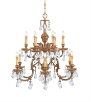 Picture for category Crystorama Lighting 2912-OB-CL-S Chandeliers Novella