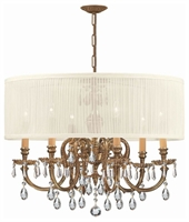Picture for category Crystorama Lighting 2916-OB-SAW-CLM Chandeliers Brentwood