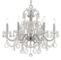Picture for category Crystorama Lighting 3226-CH-CL-MWP Chandeliers Imperial