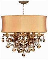 Picture for category Crystorama Lighting 4415-AB-SHG-GTS Chandeliers Brentwood