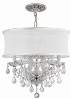 Picture for category Crystorama Lighting 4415-CH-SMW-CLQ Chandeliers Brentwood