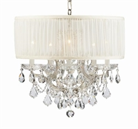 Picture for category Crystorama Lighting 4415-CH-SAW-CLS Chandeliers Brentwood
