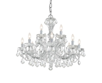 Picture for category Crystorama Lighting 4479-CH-CL-SAQ Chandeliers Maria theresa
