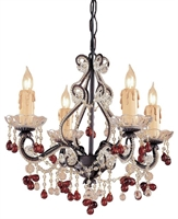 Picture for category Crystorama Lighting 4504-DR Chandeliers Paris flea