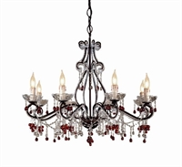 Picture for category Crystorama Lighting 4509-DR Chandeliers Paris flea