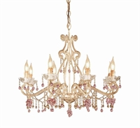 Picture for category Crystorama Lighting 4509-CM Chandeliers Paris flea