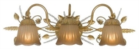Picture for category Crystorama Lighting 4743-GL Bath Lighting Primrose