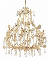 Picture for category Crystorama Lighting 4908-CM Chandeliers Athena